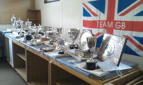 County Championship Trophies and Shields