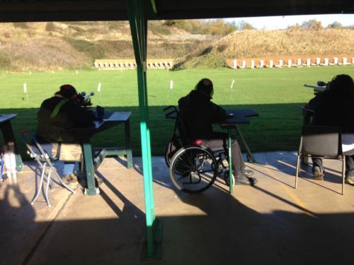 Disabled Shooting